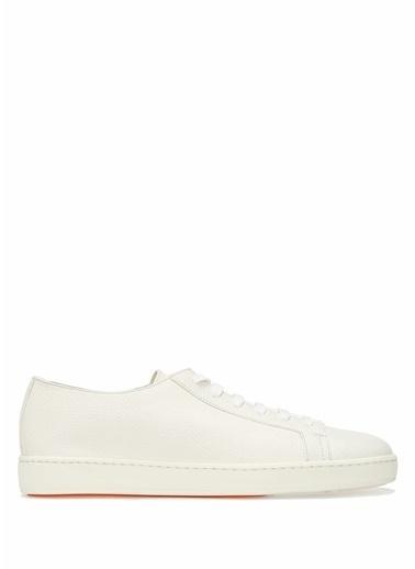 Santoni Spor Ayakkabı Beyaz